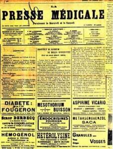 La presse_medicale